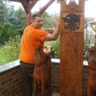 The Game of ...  ,Skulptur, Kettensäge, Berlin , Brandenburg, geschnitzt, Handmade, Holz, Tron