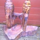 Towers in Holz, Hochzeitsgeschenk