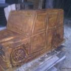 Mercedes GD in Holz geölt
