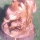 Eichhörnchen, geschnitzt