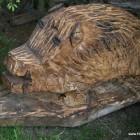 wildschwein, sau , Skulptur, Kettensäge, Berlin , Brandenburg, geschnitzt, Handmade, Holz