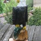 Weißkopfseeadler mit Fisch, Agel, Skulptur, Kettensäge, Berlin , Brandenburg, geschnitzt, Handmade, Holz